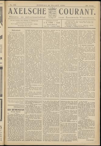 Axelsche Courant 1938-03-22