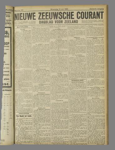 Nieuwe Zeeuwsche Courant 1920-07-14