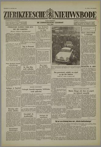 Zierikzeesche Nieuwsbode 1958-01-27