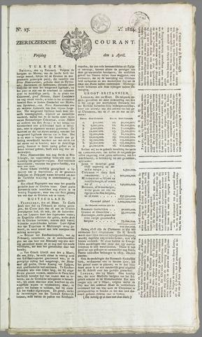 Zierikzeesche Courant 1824-04-02