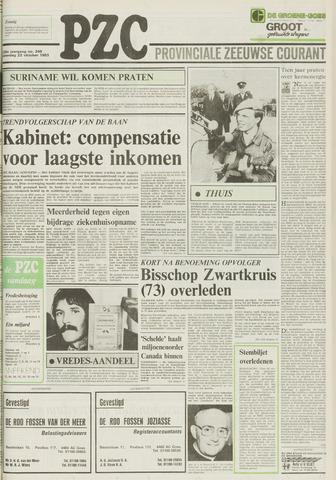 Provinciale Zeeuwse Courant 1983-10-22