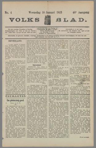 Volksblad 1923-01-10