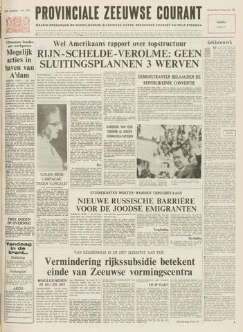 Provinciale Zeeuwse Courant 1972-08-24