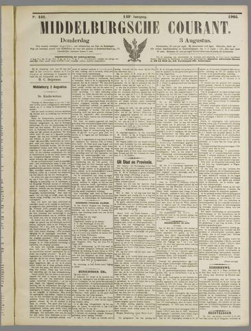 Middelburgsche Courant 1905-08-03