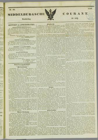 Middelburgsche Courant 1846-07-23