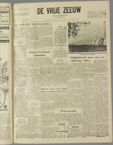 de Vrije Zeeuw 1961-02-21