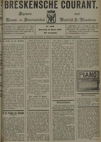 Breskensche Courant 1914-03-14
