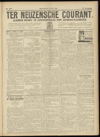 Ter Neuzensche Courant. Algemeen Nieuws- en Advertentieblad voor Zeeuwsch-Vlaanderen / Neuzensche Courant ... (idem) / (Algemeen) nieuws en advertentieblad voor Zeeuwsch-Vlaanderen 1932-07-04