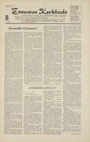 Zeeuwsche kerkbode, weekblad gewijd aan de belangen der gereformeerde kerken/ Zeeuwsch kerkblad 1964-07-31