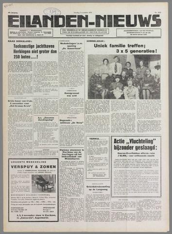 Eilanden-nieuws. Christelijk streekblad op gereformeerde grondslag 1976-11-02