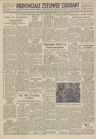 Provinciale Zeeuwse Courant 1948-04-12