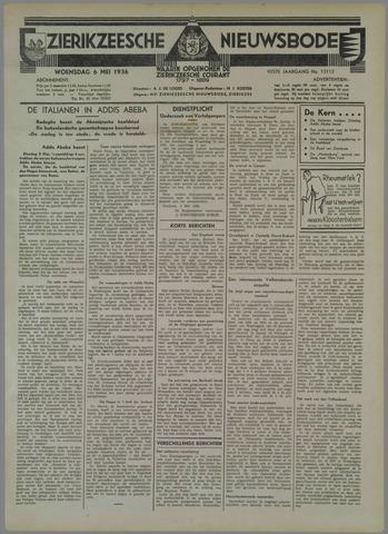 Zierikzeesche Nieuwsbode 1936-05-06