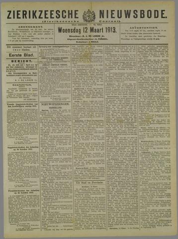 Zierikzeesche Nieuwsbode 1913-03-12