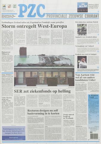 Provinciale Zeeuwse Courant 2000-10-31