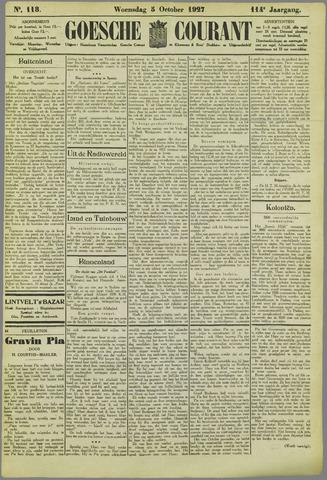 Goessche Courant 1927-10-05