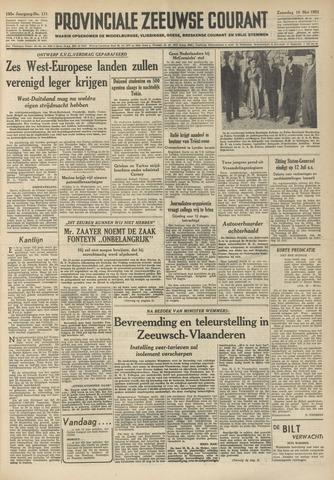 Provinciale Zeeuwse Courant 1952-05-10