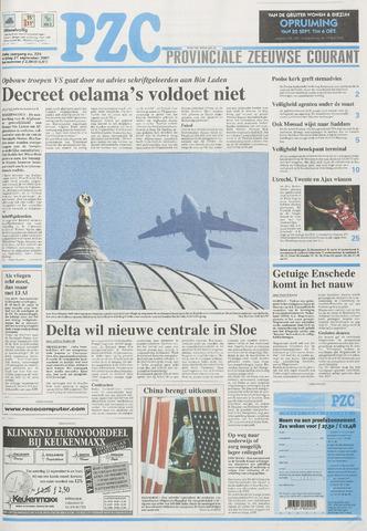 Provinciale Zeeuwse Courant 2001-09-21