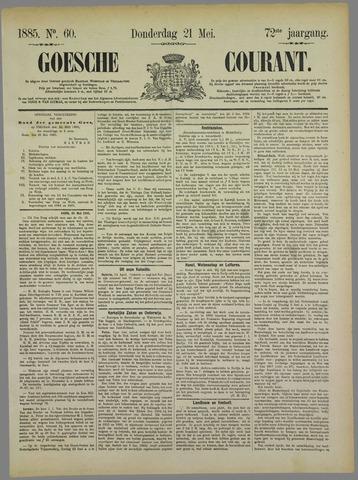 Goessche Courant 1885-05-21