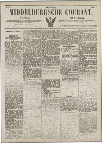 Middelburgsche Courant 1902-02-22