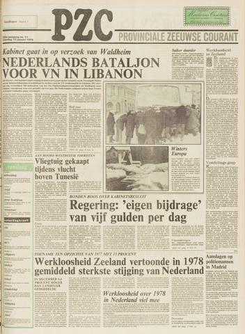 Provinciale Zeeuwse Courant 1979-01-13