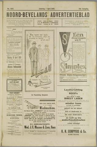 Noord-Bevelands Nieuws- en advertentieblad 1928-04-07
