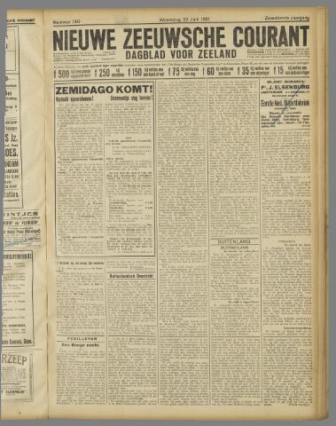 Nieuwe Zeeuwsche Courant 1921-06-22