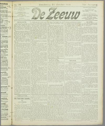 De Zeeuw. Christelijk-historisch nieuwsblad voor Zeeland 1919-10-30