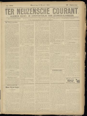 Ter Neuzensche Courant. Algemeen Nieuws- en Advertentieblad voor Zeeuwsch-Vlaanderen / Neuzensche Courant ... (idem) / (Algemeen) nieuws en advertentieblad voor Zeeuwsch-Vlaanderen 1929-03-04
