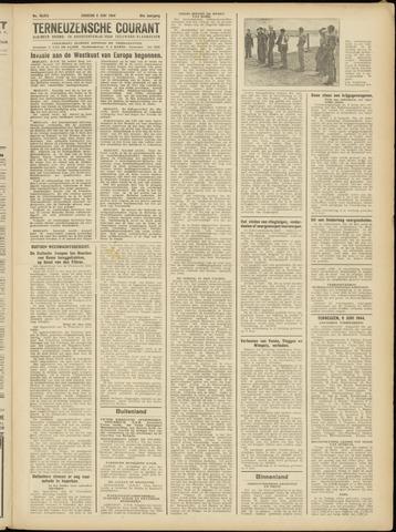 Ter Neuzensche Courant. Algemeen Nieuws- en Advertentieblad voor Zeeuwsch-Vlaanderen / Neuzensche Courant ... (idem) / (Algemeen) nieuws en advertentieblad voor Zeeuwsch-Vlaanderen 1944-06-06