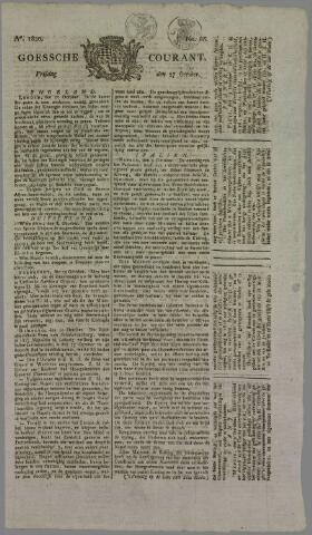 Goessche Courant 1820-10-27