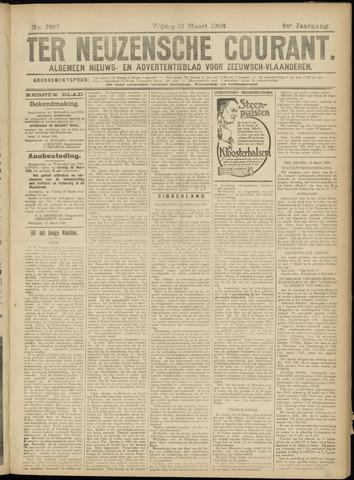 Ter Neuzensche Courant. Algemeen Nieuws- en Advertentieblad voor Zeeuwsch-Vlaanderen / Neuzensche Courant ... (idem) / (Algemeen) nieuws en advertentieblad voor Zeeuwsch-Vlaanderen 1926-03-12