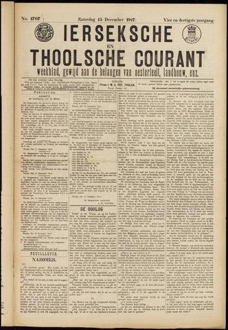Ierseksche en Thoolsche Courant 1917-12-15