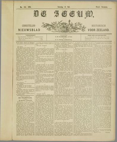 De Zeeuw. Christelijk-historisch nieuwsblad voor Zeeland 1896-07-11