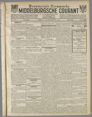 Middelburgsche Courant 1930-09-12