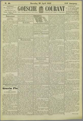 Goessche Courant 1927-04-25