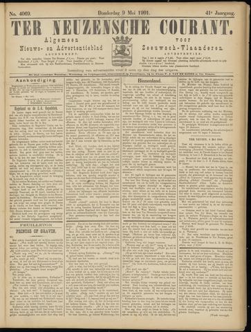 Ter Neuzensche Courant. Algemeen Nieuws- en Advertentieblad voor Zeeuwsch-Vlaanderen / Neuzensche Courant ... (idem) / (Algemeen) nieuws en advertentieblad voor Zeeuwsch-Vlaanderen 1901-05-09