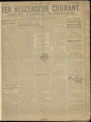 Ter Neuzensche Courant. Algemeen Nieuws- en Advertentieblad voor Zeeuwsch-Vlaanderen / Neuzensche Courant ... (idem) / (Algemeen) nieuws en advertentieblad voor Zeeuwsch-Vlaanderen 1927-01-01