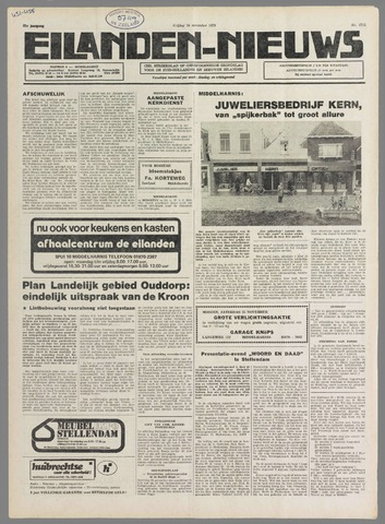 Eilanden-nieuws. Christelijk streekblad op gereformeerde grondslag 1978-11-24