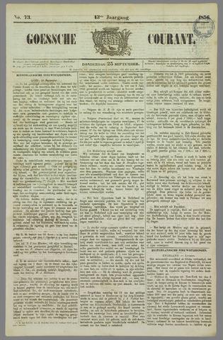 Goessche Courant 1856-09-25