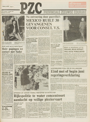 Provinciale Zeeuwse Courant 1973-05-07