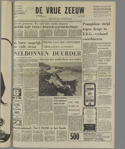 de Vrije Zeeuw 1971-08-28