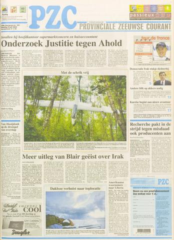 Provinciale Zeeuwse Courant 2003-07-08