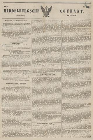 Middelburgsche Courant 1852-10-14