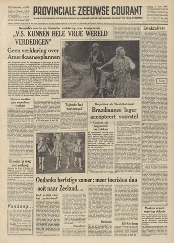 Provinciale Zeeuwse Courant 1961-09-01