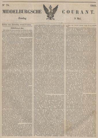 Middelburgsche Courant 1869-05-09