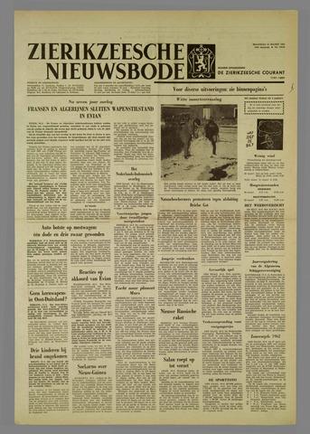 Zierikzeesche Nieuwsbode 1962-03-19