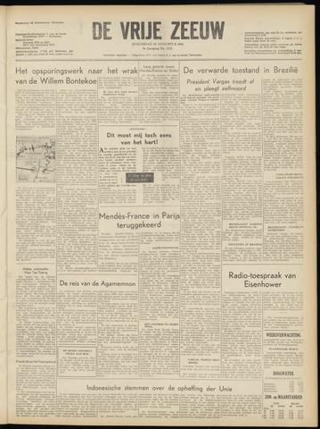 de Vrije Zeeuw 1954-08-25