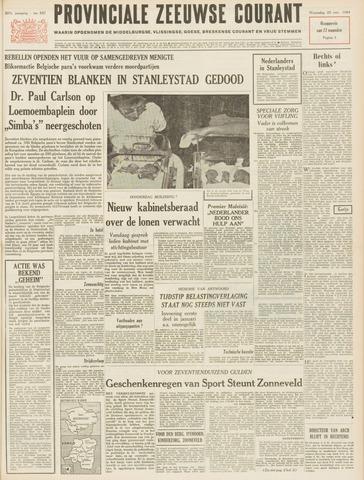 Provinciale Zeeuwse Courant 1964-11-25