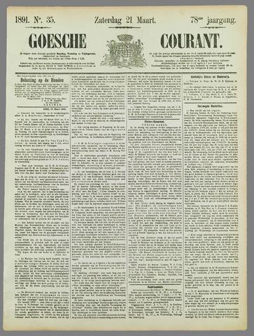 Goessche Courant 1891-03-21