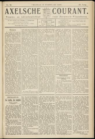 Axelsche Courant 1928-02-17